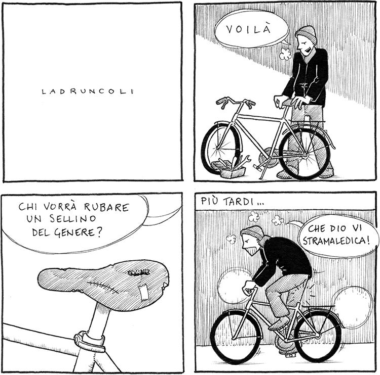 furti di biciclette