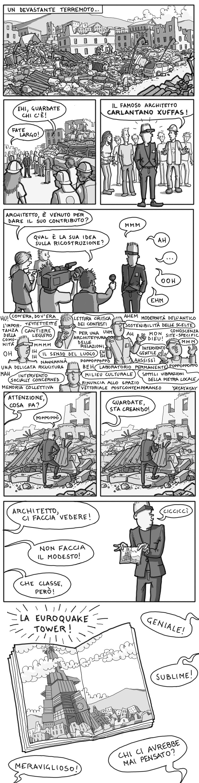 gli architetti e il terremoto
